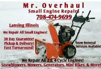 Small Engine Repairs & Snow Removal  Lansing