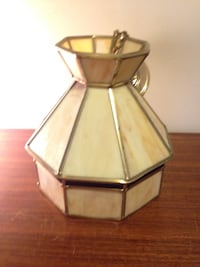 Small hanging Tiffany stained glass hanging lamp Mississauga, L5J 1V8