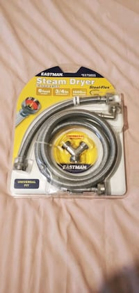 EASTMAN 72-in L 3/4-in FHT Inlet x 3/4-in Outlet Braided Stainless Ste 37076, 37076
