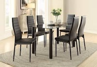 Florian Black Dining Set | 5538 - [Monthly Special] Houston, 77019