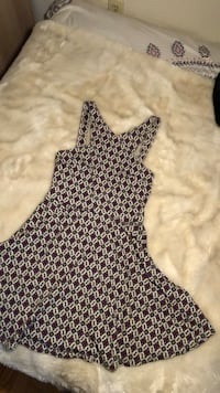 Women's black and white sleeveless dress Washington, 20016