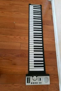 black and gray electronic keyboard Culver City, 90232
