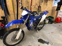 2006 Yamaha WR250F Newberry, 17370