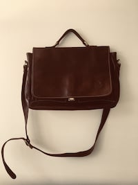 brown leather crossbody bag Vancouver, V6G 2G4