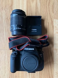 Canon Rebel T5i, with Canon 18-55mm lens and more! 2272 mi