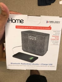 IHome Bluetooth clock/alarm/speaker  Edmonton, T6X 0W8