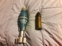 Military mortar shells deactivated Burke
