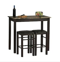 Table with two stools still in box Camarillo, 93012