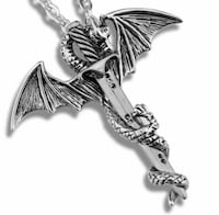 Game of Throne Necklace Flying Dragon Montréal, H9H 4T5