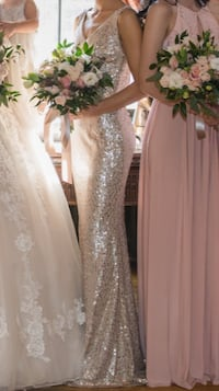 Gold Sequin Gown XS/0