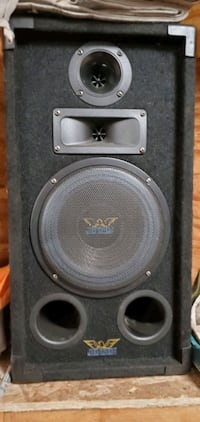 2.  10 inch house speakers