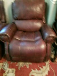 brown leather recliner sofa chair Woodbridge, 22191