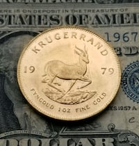 1979 South Africa 1 oz. Gold Krugerrand Berryville, 22611