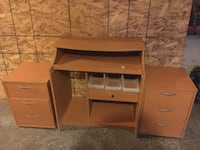 IKEA Desk and cabinets London, N6K 3A8