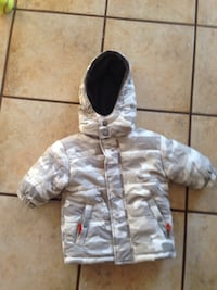 toddler's white and gray camouflage jacket Calgary, T2Z 4C6