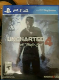 PS4 Uncharted 4 A Thief's End case Burnaby
