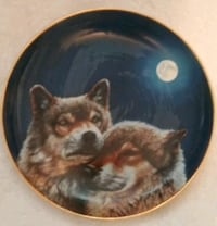 round brown and black cat decorative plate Middleburg, 32068