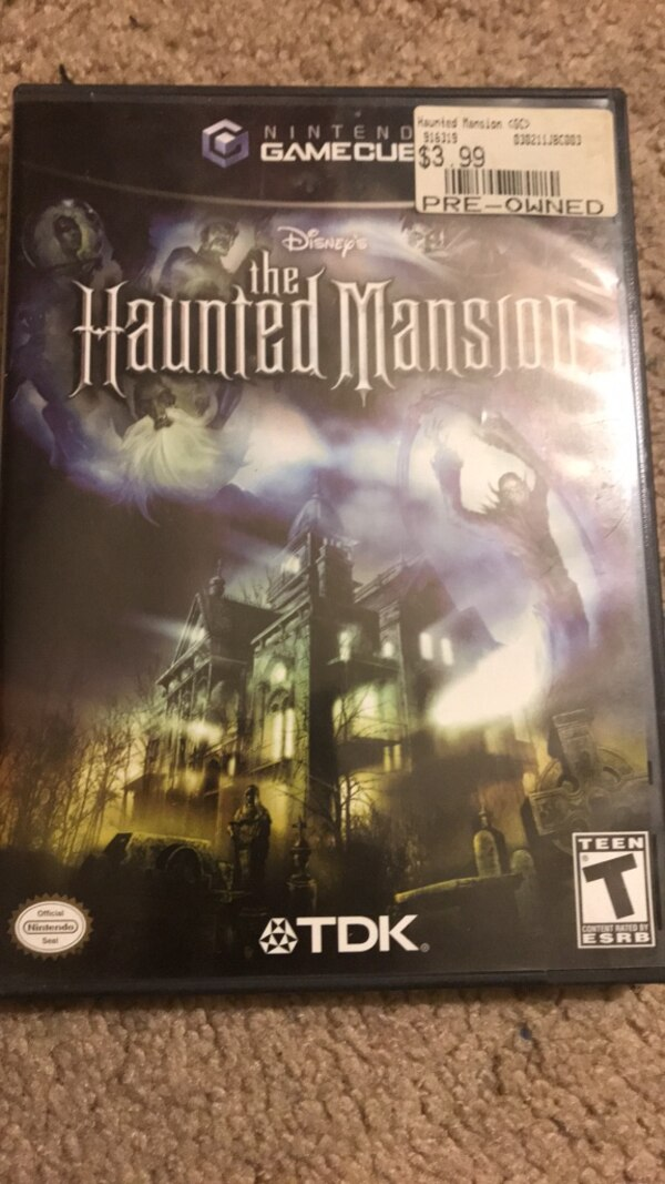 Disney's Hanted Mansion For GameCube/Wii 0