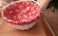 Large Christmas Lined Basket Toms River, 08757
