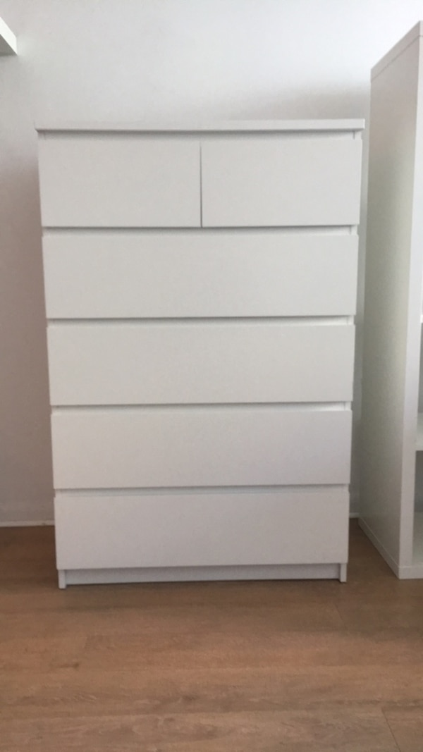 White dresser for sale - great condition
