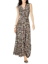 nwt Leopard Maxi Dress S  Burnaby