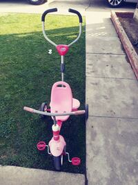 pink and purple smart push trike Bakersfield, 93305