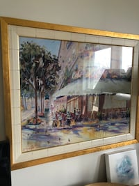 Gold framed print Richmond Hill, L4C 2V6