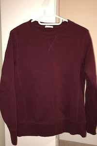 Red wine sweatshirt