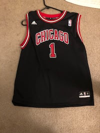 black and red Chicago Bulls 23 jersey Agoura Hills, 91301