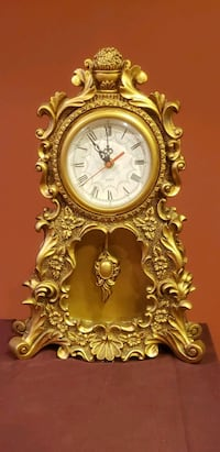 Antique design clock. Battery operated