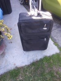 Rome suitcase for vacation