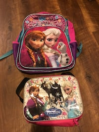 Frozen light up backpack & lunchbox Sterling, 20165