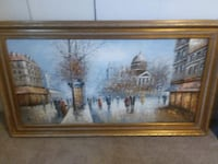 brown wooden framed painting of house Orange Park, 32073