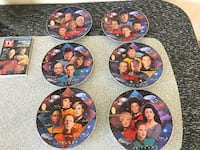 Star Trek Hamilton Collection 30 Anniversary Plates Mount Holly Springs