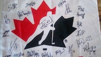 Autographs...of whole Canadian hockey team, t Toronto, M5B 2P2