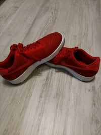 11.5 Red Air Force Ones Ware, 01082