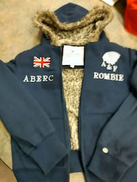 Abercrombie & Fitch jacket with fur inner lining