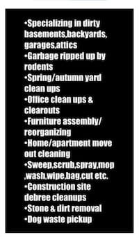 Yard And Garage Cleaning Same Day Service Toronto, M1E 4V7