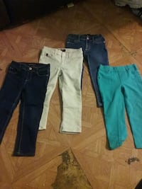 Four Size 3t jeans  Evergreen, 71333