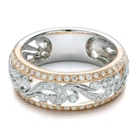 ***TWO-TONED RING***