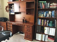 Solid wood desk with hutch and more Harrisburg, 28075