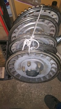 NOT SOLD* * 15 inch truck hubcaps $10ea Mobile