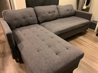 Grey L shape couch Orem, 84057