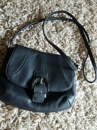 black leather 2-way bag Annandale, 22003