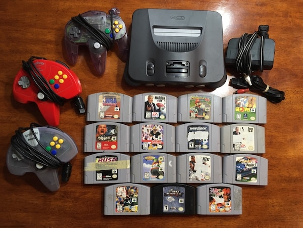 Nintendo 64 N64 Mario Kart lot 15 games!