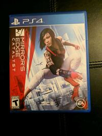 Mirror's Edge Catalyst PS4 game Brookeville, 20833