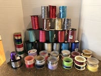 Large Lot of 46 Spools Ribbon $40 for all Manassas