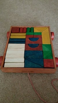 Building blocks and cart Freehold, 07728