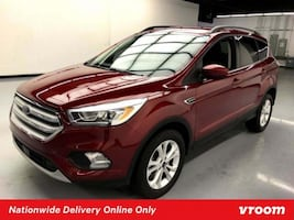2018 Ford Escape Red hatchback