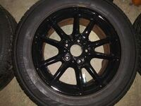 """16"""" 5x120 BMW wheels and tires  Akron"""
